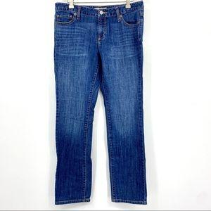 Banana Republic mid rise straight leg jeans 8/29